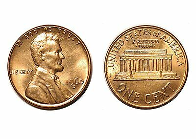 1960-D  Lincoln Cent - CONECA RPM-025 #25 Uncirculated bu Red  #804