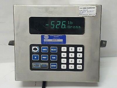 GSE Scale Systems 550 Digital Scale 115V 50/60Hz 0.5A Indicator Monitor Only