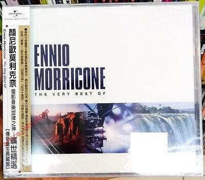 Ennio Morricone The Very Best Of Taiwan CD w/OBI 2017 NEW