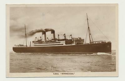 """R.M.S. MINNESOTA"" QUEBEC P.Q 1922 CDS,  POSTCARD 2c RATE TO ONT. (SEE BELOW)"