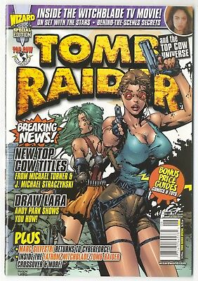 TOMB RAIDER Top Cow Wizard Special Edition, Draw Lara, Witchblade, Price Guides