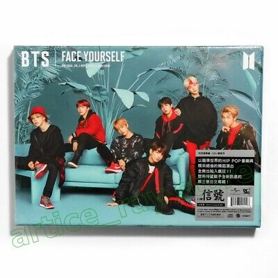 BTS Face yourself Taiwan CD BOX 68P Photobook 2018 NEW