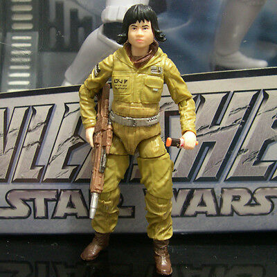 "STAR WARS the black series RESISTANCE TECH ROSE the last jedi 3.75"" Walmart"