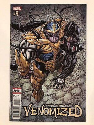 Venomized #4 Marvel Comic 1st Print 2018 unread NM