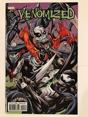 Venomized #4 Mark Bagley Connecting Variant Marvel Comic 1st Print 2018 NM