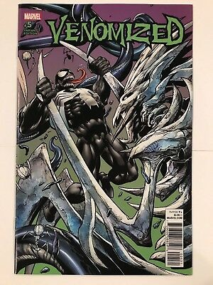 Venomized #5 Mark Bagley Connecting Variant Marvel Comic 1st Print 2018 NM