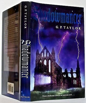 SHADOWMANCER, by G. P. TAYLOR —Putnam (2004) —1st Am. edition, first printing
