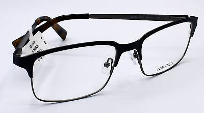 0538dcd171 NAUTICA MEN S EYEGLASSES Optical Glasses Frame BLack N9104 56-19-140 ...