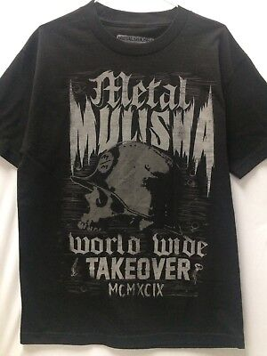 "Metal Mulisha Men T-Shirts--/'/'Backup/"" Color--Bll"