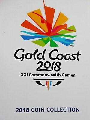 Gold Coast  Aust.  Xx1 Commonwealth  Games 2018 Coin Collection Set  X 7 Coins