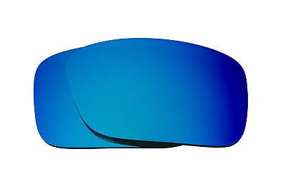 ce18bf8c98 Best SEEK Polarized Replacement Lenses for Oakley CRANKCASE Blue Mirror