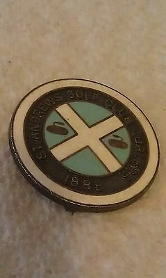 Vintage Curling Pin St. Andrews Golf Club Curlers 1888