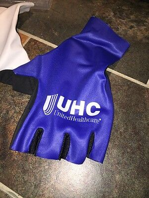 Vermarc United Healthcare Pro Cycling Team Bike Aero Gloves LARGE Time  trial TT bed264ef9