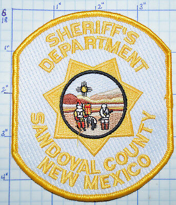 New Mexico, Sandoval County Sheriff's Dept Patch