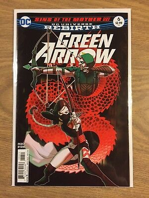 Green Arrow (5th Series) #6  2016 VF to NM, Closer to NM