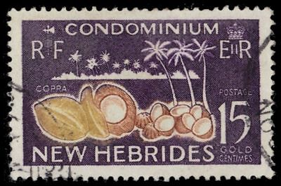 BRITISH NEW HEBRIDES 98 (SG100) - Copra Industry (pa81470)
