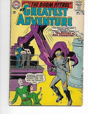 My Greatest Adventure #84 - 1963 - Doom Patrol