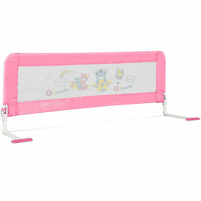 59'' Breathable Baby Children Toddlers Bed Rail Guard Safety Swing Down Foamed