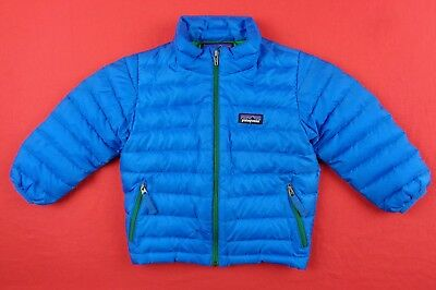 d402c10e93cf PATAGONIA BOYS KIDS 2T Baby Down Puffer Jacket Coat Sweater Hiking ...