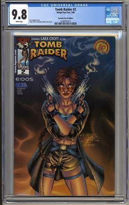 Tomb Raider #2 Dynamic Forces Edition CGC 9.8 (2000) Limited 10,000 copies w/COA