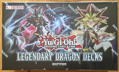 YGO - Legendary Dragon Decks Box in deutch NEU & OVP