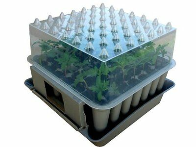 New Agralan Compact 49 Plug Plant Stackable Self Watering Trainer HA100