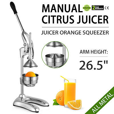 Hand Press Manual Citrus Juicer Squeezer Commercial Bar Lemon Lime Press Tool