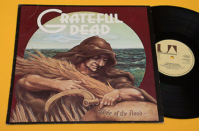 Grateful Dead Lp Wake Of The Flood 1°St Orig Germany 1973 Ex ! Audiophiles