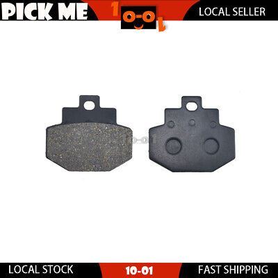 Motorcycle Rear Brake Pads for VESPA GT 200 L Granturismo 2003 2004 2005 2006