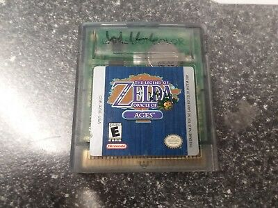 The Legend of Zelda: Oracle of Ages Nintendo GameBoy Color GBC Cartridge Only