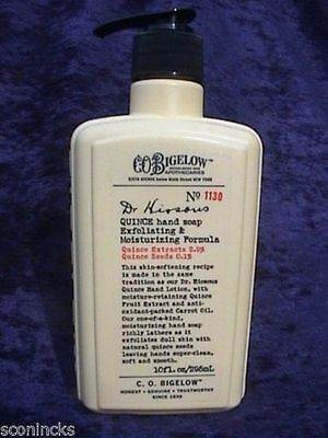 Bath & Body Works Handzeep C.O.Bigelow Dr.Hiosous Moisturizing Hand Soap 295 ml