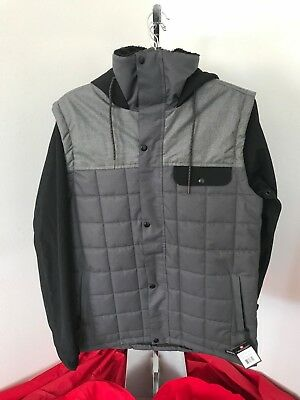 5863b9c2b 2019 686 MENS Foundation Insulated Snowboard Jacket Large Camp Green ...