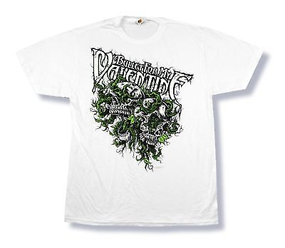 Bullet For My Valentine Skull Rock T Shirt Size Small Official