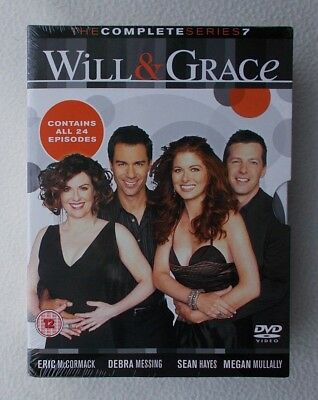 Will and Grace : The Complete Series / Season 7 ~ UK DVD ~ Brand New & Sealed
