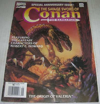 SAVAGE SWORD OF CONAN THE BARBARIAN #225 (Marvel Comics 1994) (FN+) RARE ISSUE