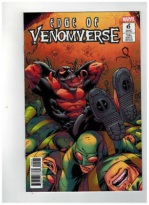 EDGE OF VENOMVERSE #5  1st Printing - Ron Lim Variant Cover / 2017 Marvel Comics