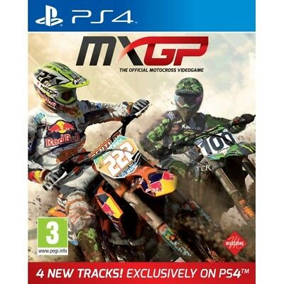 MXGP The Official Motocross Videogame PS4 Game