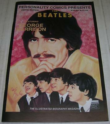BEATLES #3 GEORGE HARRISON RARE LIMITED EDITION w/CARDS (Personality 1991) (FN+)