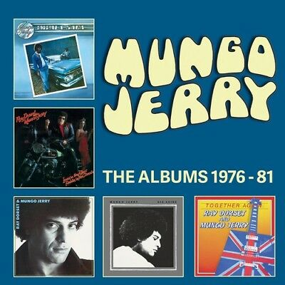 Mungo Jerry - Albums 1976-1981 [New CD] Boxed Set, UK - Import