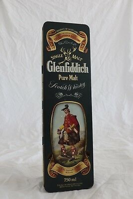 Glenfiddich Clans Of The Highlands Of Scotland Kennedy Collectible Tin Ex Cond