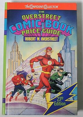 ESA1193. OVERSTREET The Comic Book Price Guide 23th Edition Hardcover 1993 /