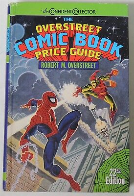 ESA1194. The OVERSTREET Comic Book Price Guide 22th Edition Hardcover 1992 /