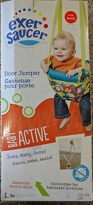 NEW Baby Active Exer Saucer Door Jumper Bumbly Theme