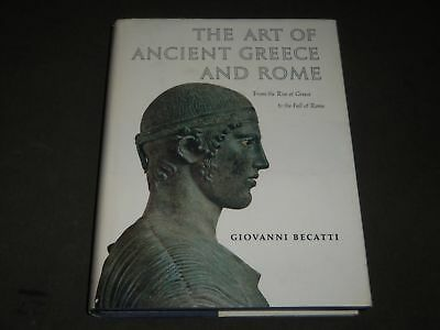 1967 The Art Of Ancient Greece And Rome Book By Giovanni Becatti - I 1535