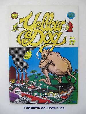 Yellow Dog  Comics, No. 1 .50 Cents Cover  Underground  R. Crumb