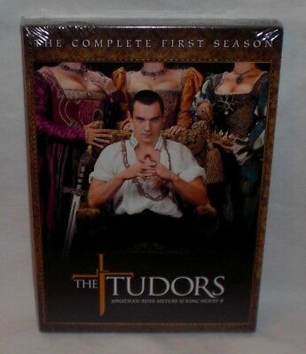 THE TUDORS - THE COMPLETE FIRST SEASON 1 ONE 4-Disc DVD Set NEW