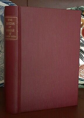 RARE 1898 1st Edn~THE BOSTON AT HAWAII ~ Signed by LORRIN A THURSTON