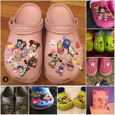 Lot of PVC Shoe Charms for Holes on Shoes Bracelets Hot Cartoon Kids Party Gift