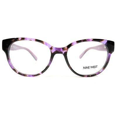 de907dab78 NEW NINE WEST Optical Eyeglasses RX Frame NW 5079 518 Purple Tortoise 50-17-135  -  64.95