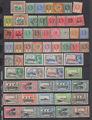 St Lucia 1902/70's Collection Mint Mounted,MNH & Used